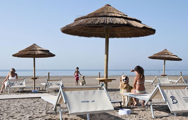 Spiaggia - Hotel Rialto Grado